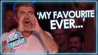 Simon Cowell's FAVOURITE EVER UK Auditions! Got Talent and X Factor | Top Talent