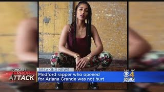 Medford Rapper Touring With Ariana Grande Not Hurt In Terror Attack
