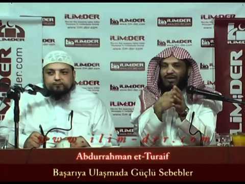 Basariya ulasmadadaki güclü sebebler Dr. Abdurrahman etturaif  Arapca-Türkce