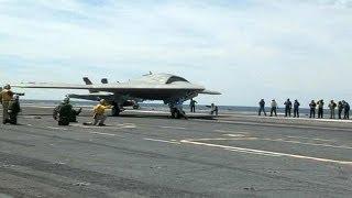 Marinha americana apresenta o drone do futuro