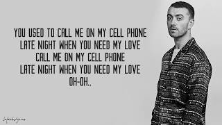Sam Smith - Hotling Bling (Lyrics)