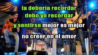 Pxndx   los malaventurados no lloran MTV karaoke