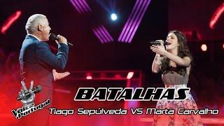 Tiago Sepúlveda VS Marta Carvalho - Too Much Love Will Kill You | Batalhas | The Voice Portugal