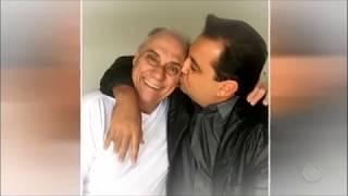 Geraldo Luís se emociona com homenagem a Marcelo Rezende no Família Record
