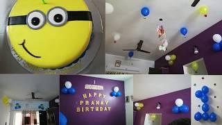 Birthday decoration ideas tamil    Living room tour    Balloon decoration ideas for birthday