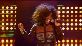Misha B is guilty of loving Cyndi Lauper - The X Factor 2011 Live Show 8 - itv.com/xfactor
