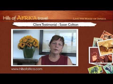 Soul Safari with Ainslie MacLeod: Testimonial by Susan Coliton