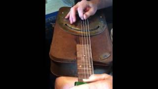 Box guitar by Blind Buddaha Guitars