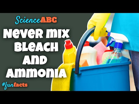 Here's Why You Should NEVER Mix Bleach and Ammonia
