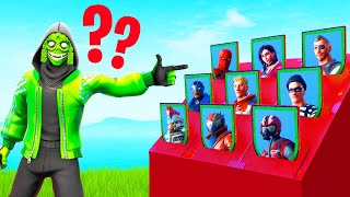 Playing GUESS WHO In FORTNITE! (*NEW* MINIGAME)