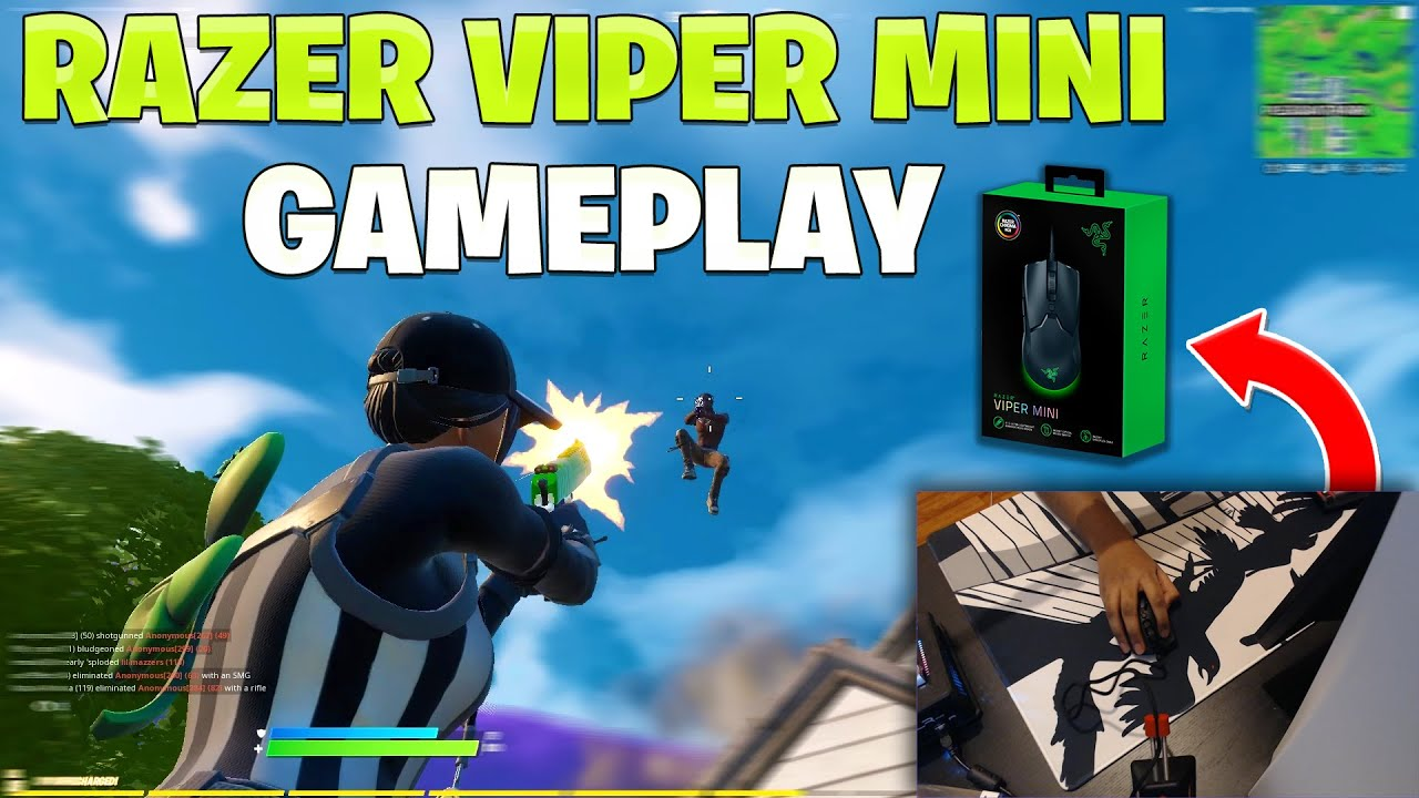 Hassan - Razer Viper Mini Unboxing + Gameplay  (First Impressions)