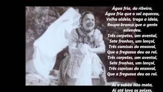 Beatriz Costa-Canção da roupa branca -Áudio com letra
