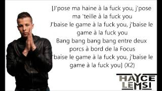 Hayce Lemsi - A la fuck you paroles HD par RAGE-PAS-BOY