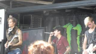 Crown the Empire - The Fallout - Live 6-14-14 Vans Warped Tour 2014