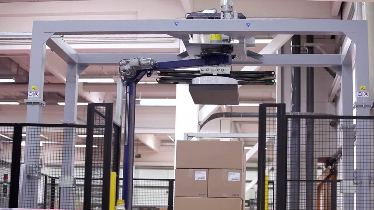 HDS-3000 PV Vollautomatische Paletten-Umreifungsmaschine