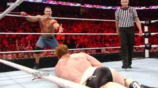 Raw - John Cena & Sheamus vs. Christian & Mark Henry