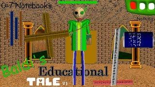 Baldi's Educational Tale: Baldi's Wants To Kill You  - Baldi's Basics V1.4.1 Mod