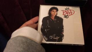Michael Jackson - Bad 25 (4 Disc Deluxe Edition) (Unboxing)