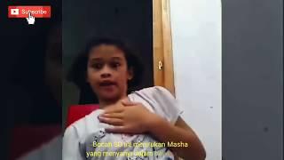 """Tingkah Kocak BOCAH tirukan Masha & the Bear."""" Ngik ngik ngik Dance """""""