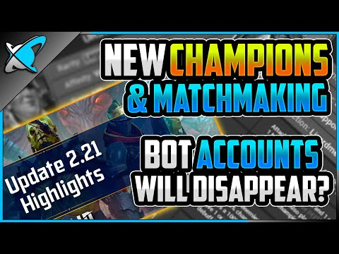NEW CHAMPIONS... NEW *ARENA* MATCHMAKING !? | Bot Accounts Will Disappear !? | RAID: Shadow Legends