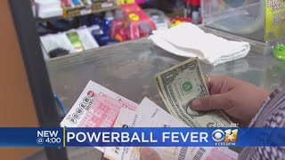 Lottery Players Hold Breath As $700M Powerball Jackpot Drawing Nears