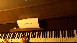 Hometown Glory piano instrumental