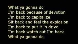 Dope-I'm back lyrics