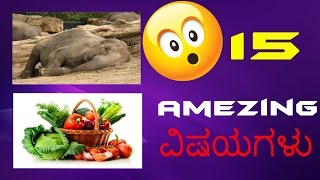 15 amazing topics in kannda
