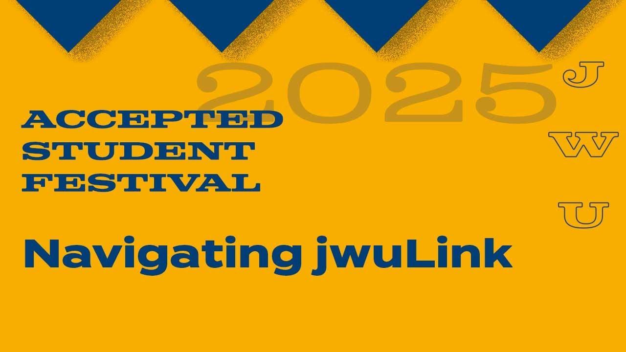 JWU Accepted Students Fair: JWULink thumbnail