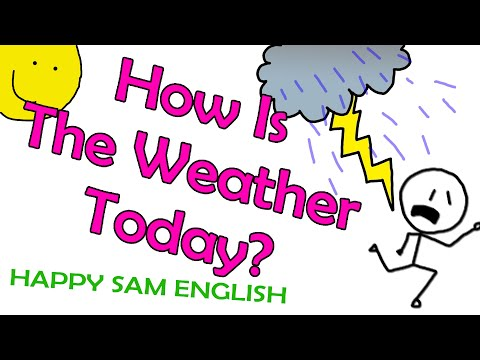 How is the weather today? - YouTube