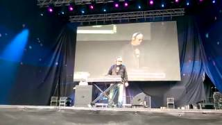 DJ AlanT at Eurovision Village