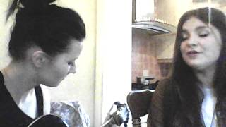 Sandra and Migle- love you like a love song cover