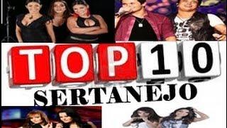 TOP 10 MÚSICAS SERTANEJAS LANÇAMENTOS  2017.