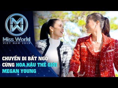 Hoa hậu Lương Thuỳ Linh bí mật đưa Hoa hậu thế giới Megan Young đi du lịch Đà Lạt mùa Festival Hoa