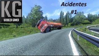 Euro Truck Simulator 2 - Acidentes e Capotamentos