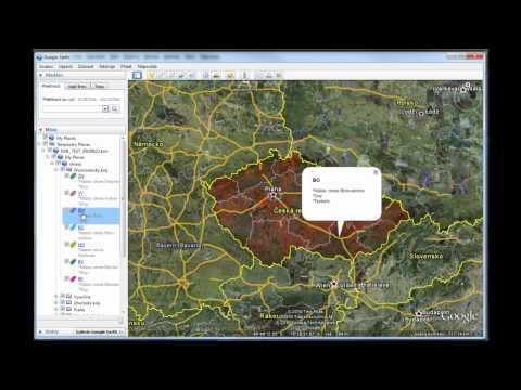 SAP Business One - využití Google Earth a Google Maps při řízení servisu - definice oblastí