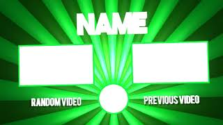👋Free Panzoid Outro Template | Epic? :3 | #2