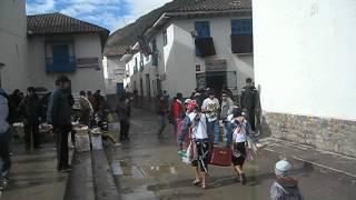 Paucartambo, desayuno chelero jejej 2010