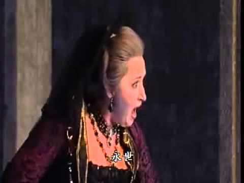 魔笛-莫札特---我心沸騰著怒火 - YouTube