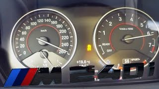 BMW M240i ACCELERATION & TOP SPEED on AUTOBAHN