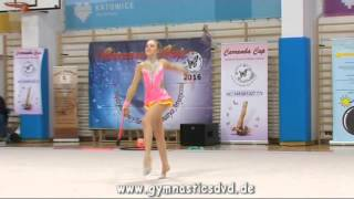 Laura Sanetra (POL) - Junior 09 - Carramba Cup Katowice 2016