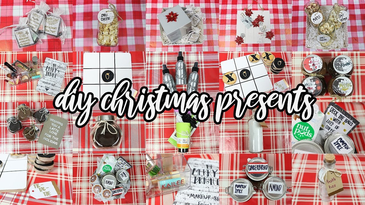 10 DIY Christmas Gifts People will love