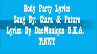 Ciara- Body Party Lyrics