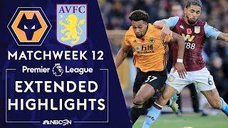 Wolves v. Aston Villa   PREMIER LEAGUE HIGHLIGHTS   11/10/19   NBC Sports
