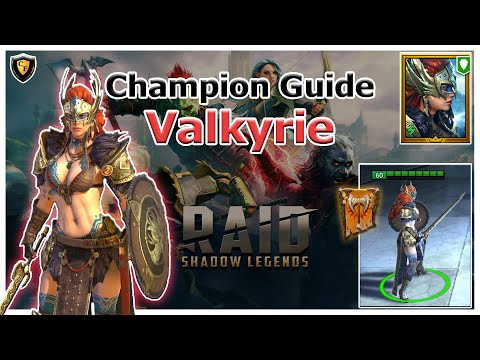 RAID Shadow Legends | Champion Guide | Valkyrie