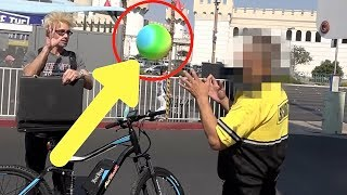 ESCAPING FROM SECURITY USING MAGIC!!! (HOW TO AVOID TROUBLE!)
