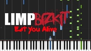 Limp Bizkit - Eat You Alive (♫) (Instrumental + Synthesia)
