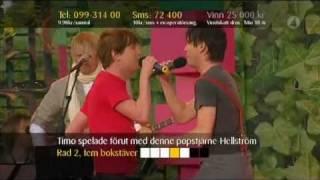 Timo Räisänen & Lasse Lindh Kom Kampsång Live Sommarkrysset 2008