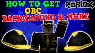 ROBLOX How To Get OBC Background & MORE