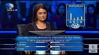 Vrei sa fii milionar? (13.11.2018) - Delia a ajuns la pragul de 1000 de lei! Cum s-a descurcat?
